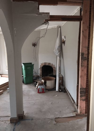 Sunnyside home remodel before construction