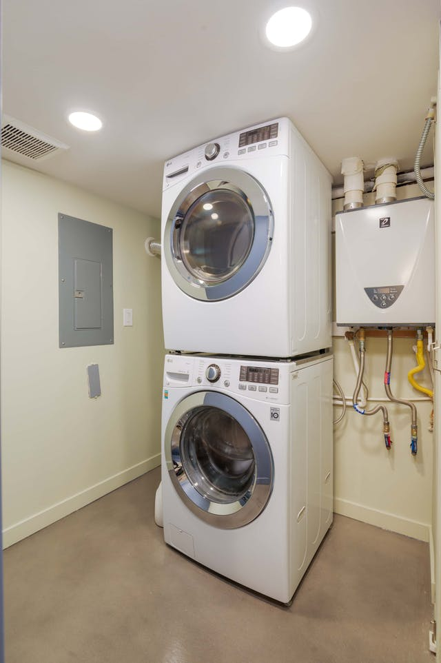 Greenwood Village basement remodel - laundry room