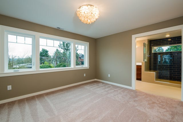 Seattle addition - master bedroom