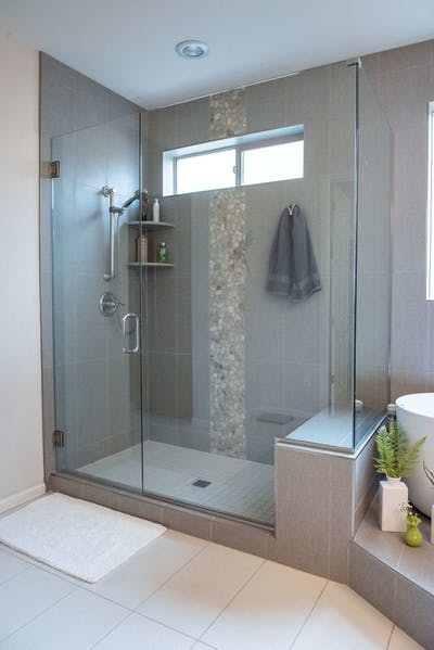 Goodyear shower remodel