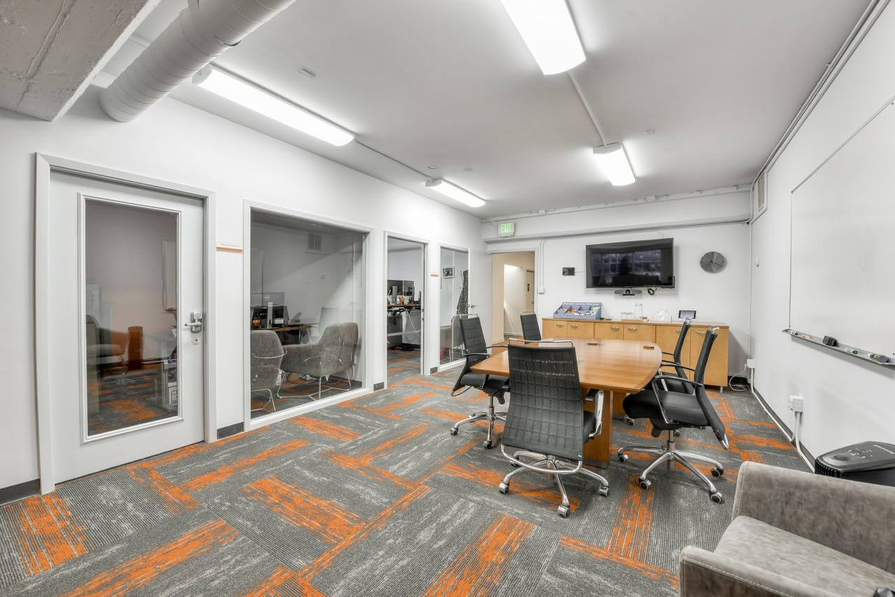San Francisco office meeting room