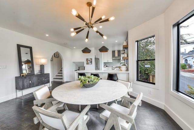 Sunnyside home remodel dining room
