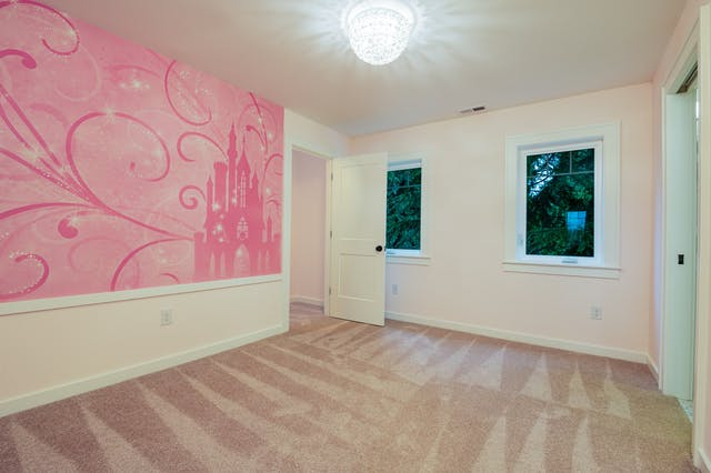 Seattle addition - pink bedroom