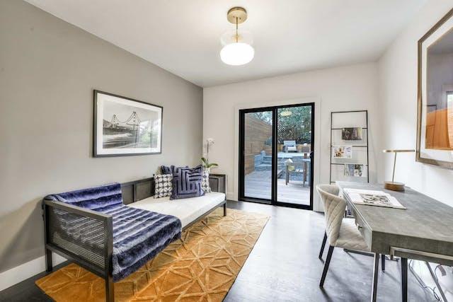 Sunnyside home remodel office