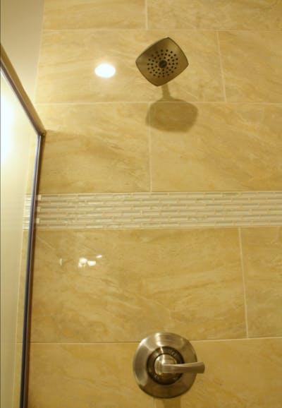 Medina new construction showerhead