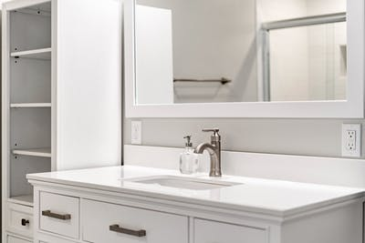 Northgate addition bathroom vanity