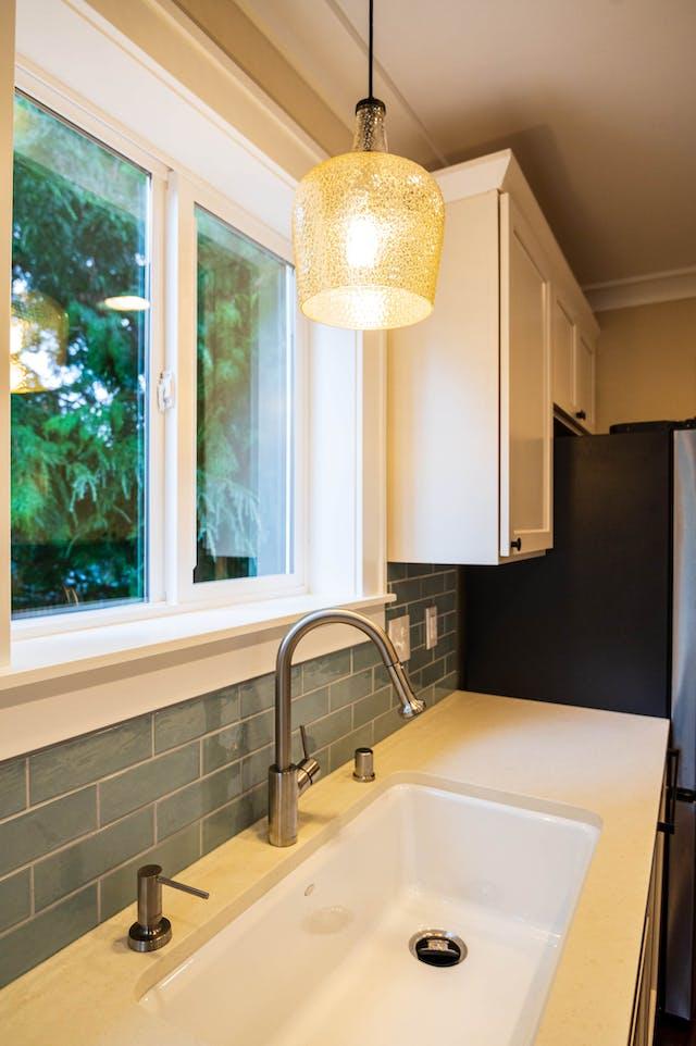 Seattle addition - kitchen sink