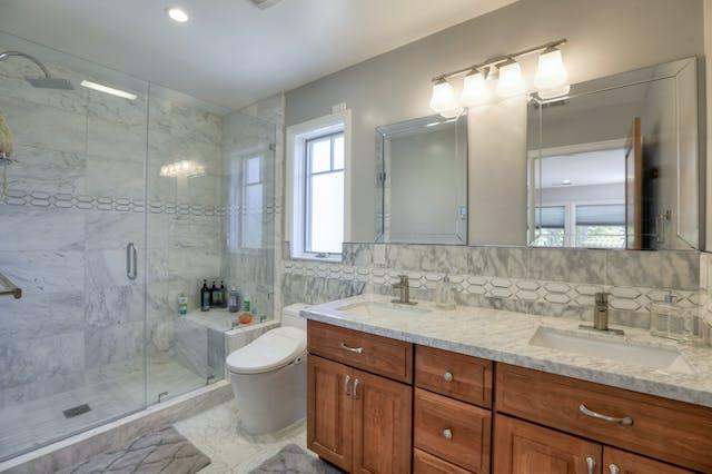 Burlingame addition bathroom