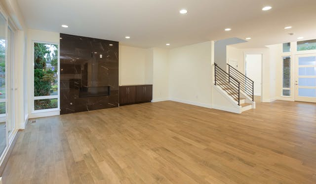 South Rose Hill New Home Construction – Living room