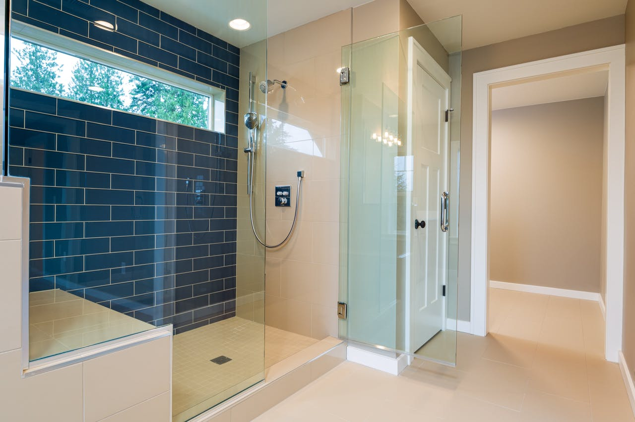 Seattle addition - master bathroom shower