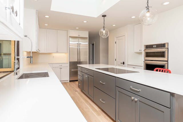 Cherry Hills Village Home Remodel - kitchen island