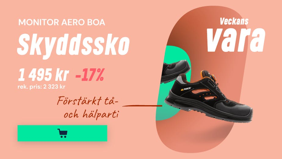 https://www.proffsmagasinet.se/skydd/arbetsskor/skyddsskor/monitor-aero-boa-skyddssko-svart-s1p-esd-strl-44