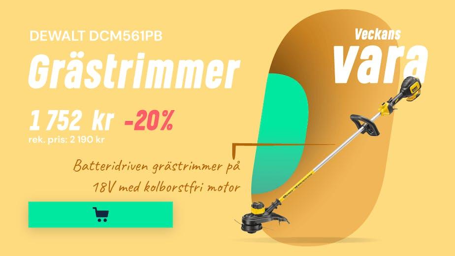 https://www.proffsmagasinet.se/tradgard-fritid/tradgardsmaskiner/batteridrivna-tradgardsmaskiner/grastrimmer-och-rojsagar/dewalt-dcm561pb-grastrimmer-utan-batterier-och-laddare-jd11800-2