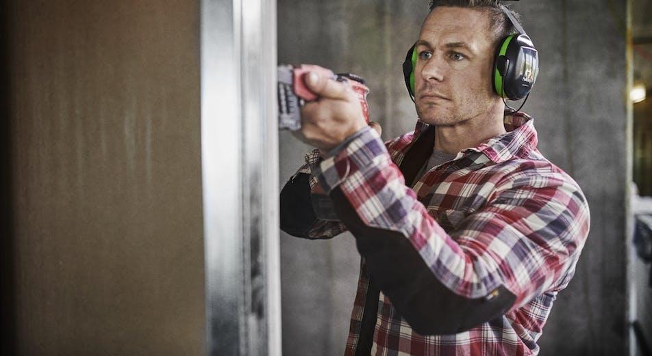 Experten: Viktigt att välja hörselskydd med rätt dämpning