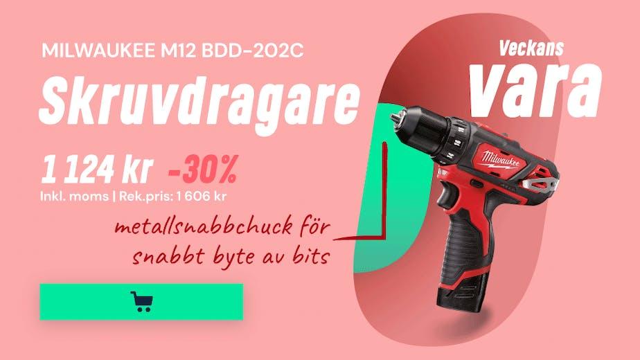 https://www.proffsmagasinet.se/maskiner-verktyg/batteridrivna-verktyg/skruvdragare/milwaukee-m12-bdd-202c-borrskruvdragare-med-batterier-och-laddare-js12115