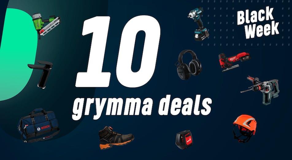 10 grymma deals under Black Week!