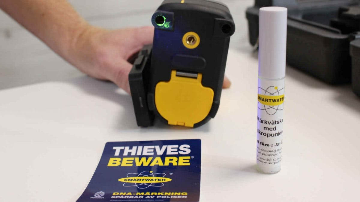 DNA MARKNING SmartWater