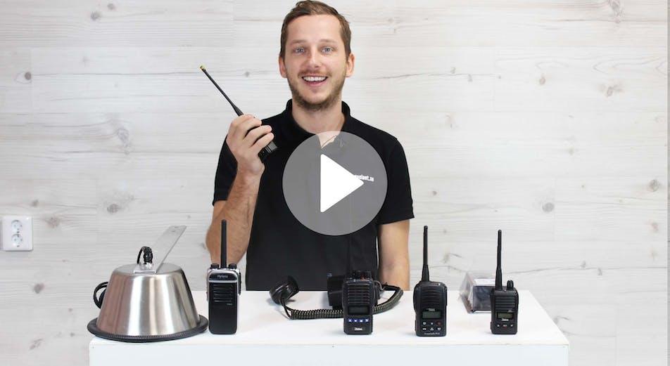 Guide: Komradio – vilka radios passar bäst för bygg & installation?