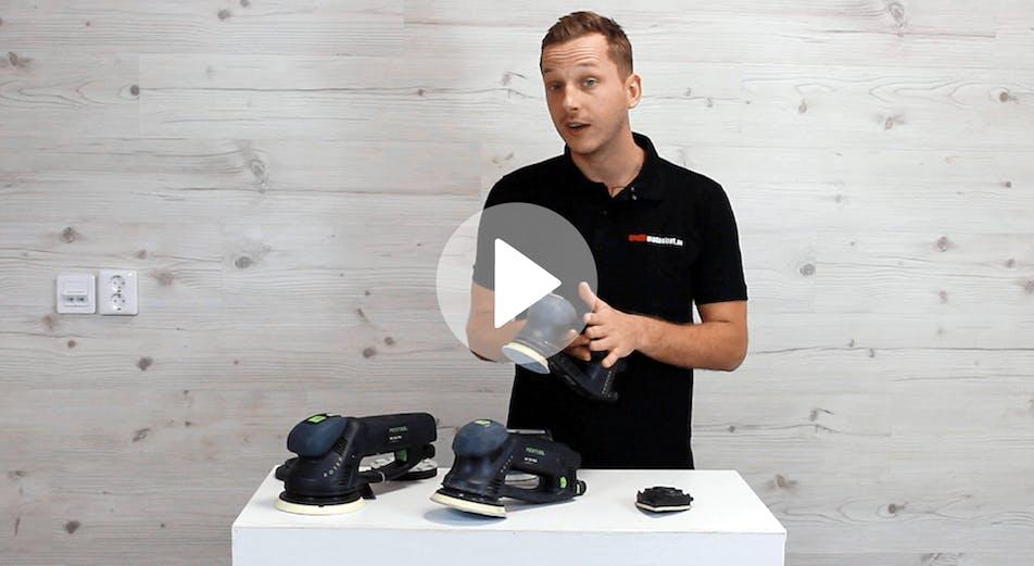 Guide: Slip- & polermaskin Festool Rotex – Vad är skillnaden?