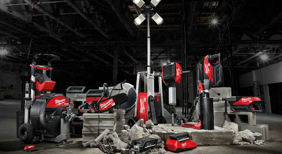 Milwaukee lanserar ny batteriplattform - MX FUEL!