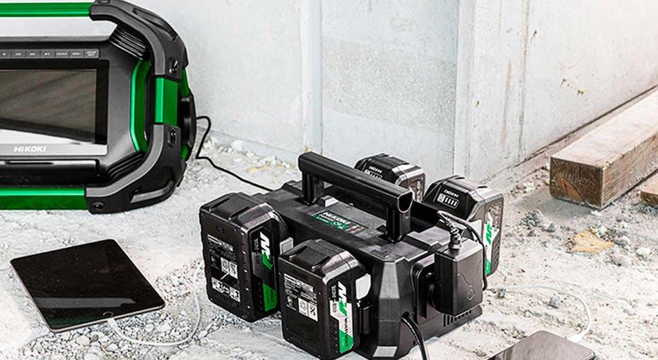 HiKOKI nyhet: Ha aldrig ett tomt batteri med nya multiportladdaren!