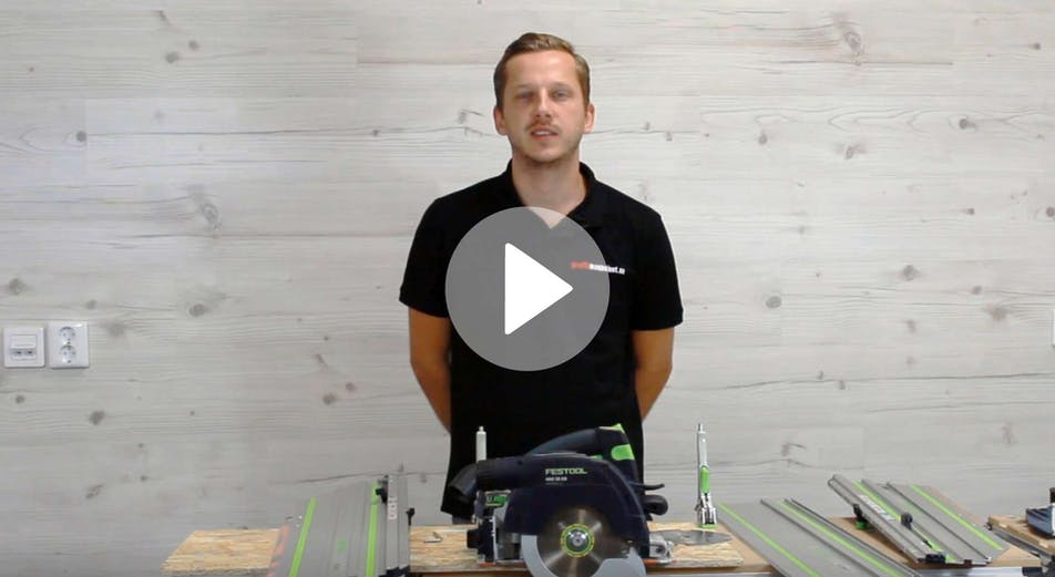 Guide: Vi testar Festool HKC 55 cirkelsåg med skenan FSK420