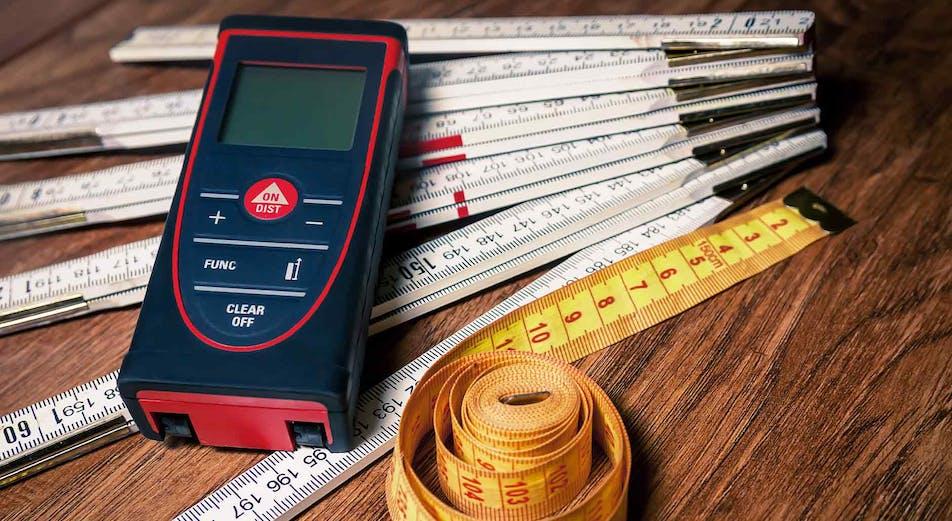 Hur mäter man en byggnads area?