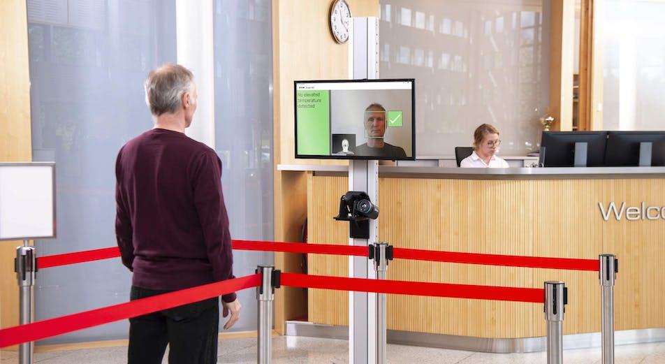 Nyhet: Kontaktlös feberkontroll med FLIR:s EST-värmekameror