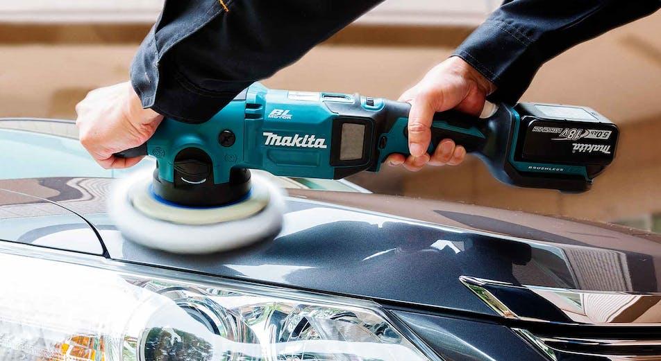 Nyhet: Batteridriven polermaskin för proffs & hobbybruk från Makita