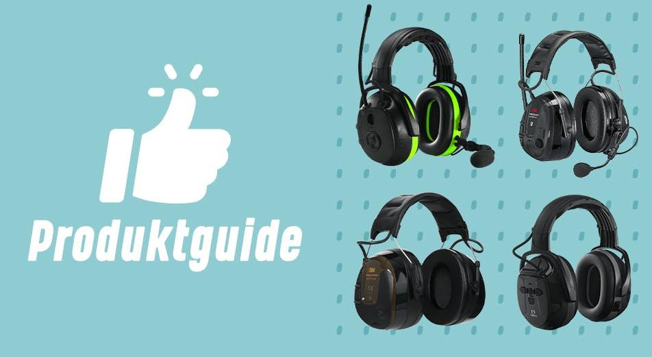 Guide: Så väljer du rätt hörselskydd