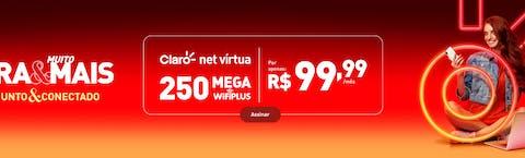 nova oferta 250mb internet claro fibra desktop