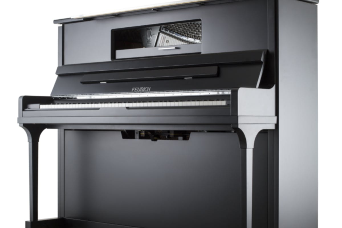 Feurich 123 Vienna rechte piano