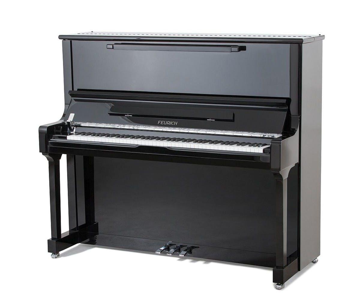 Feurich 133 Concert rechte piano
