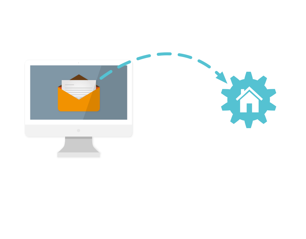 Email to lead conversion with LeadFwd
