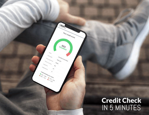 Credit Check  in 5 Minutes