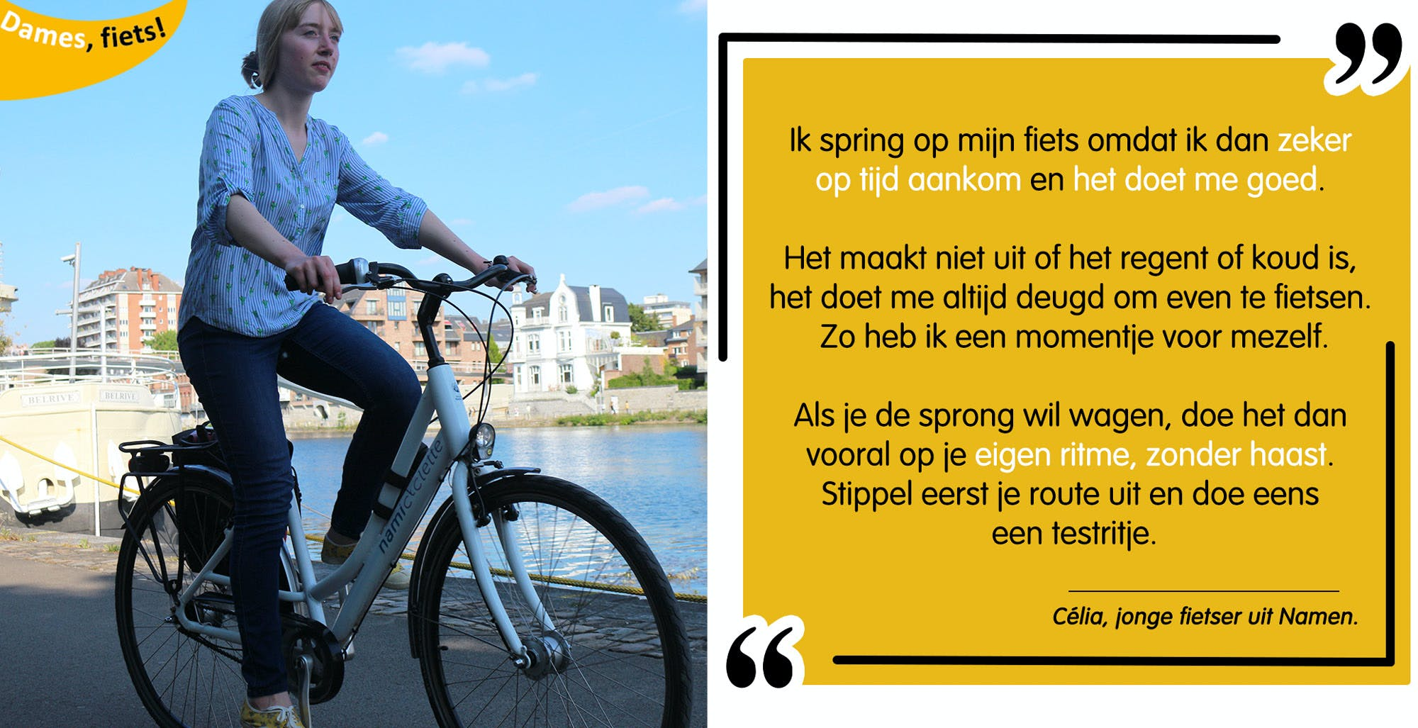 Tips - Op de fiets met Célia