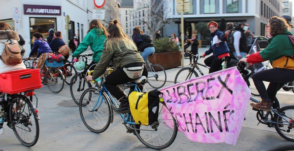 Ride 8 mars - Les Déchainé·es