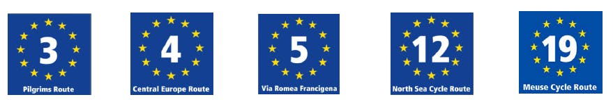 Routes belges de l'EuroVelo