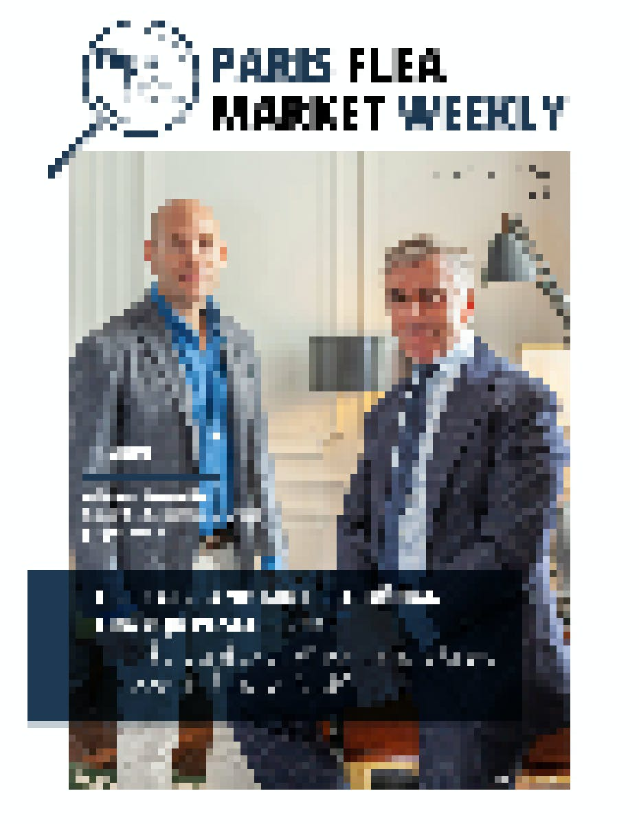 Paris Flea Market Weekly N°7 Cover