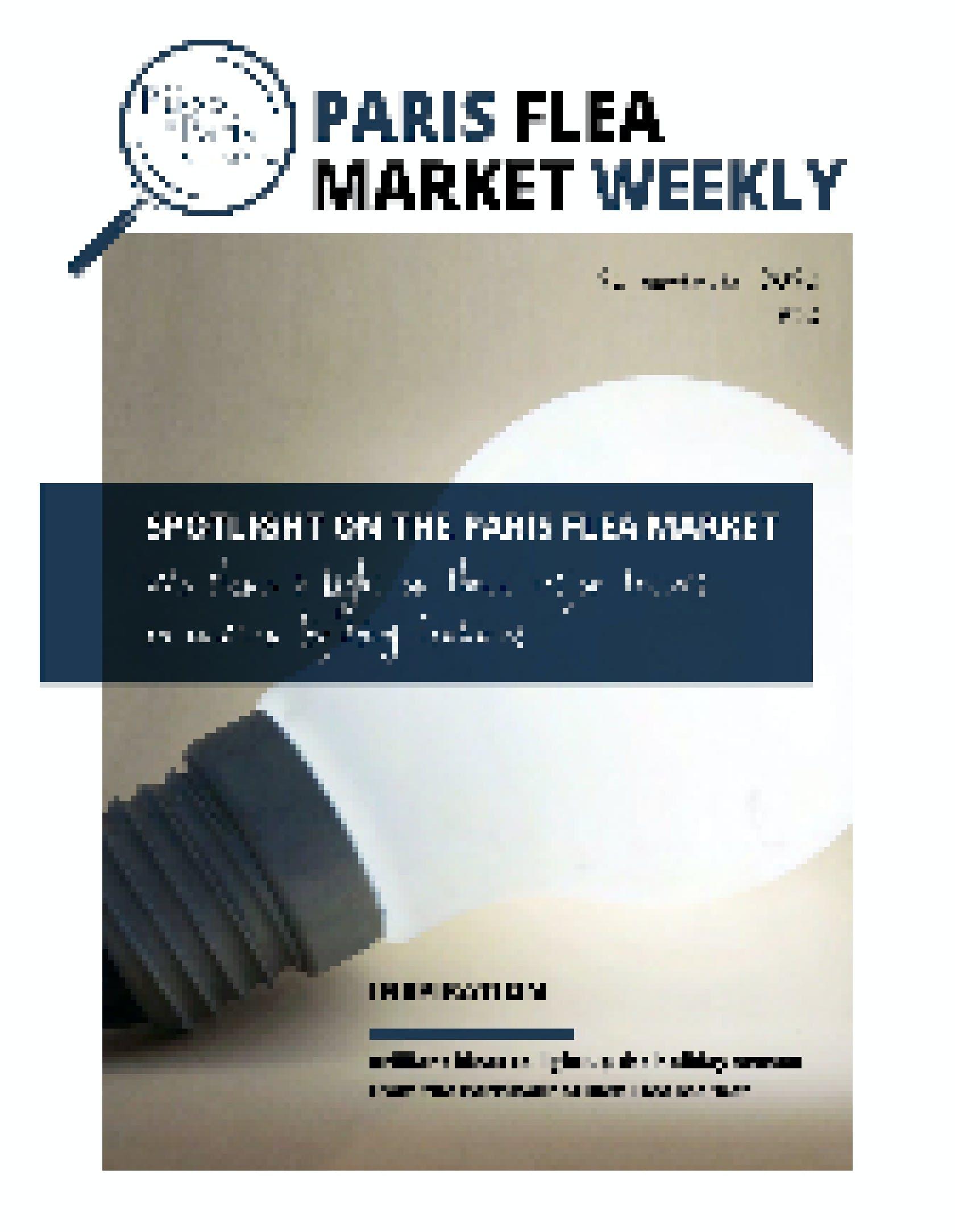 Paris flea market N°10 cover