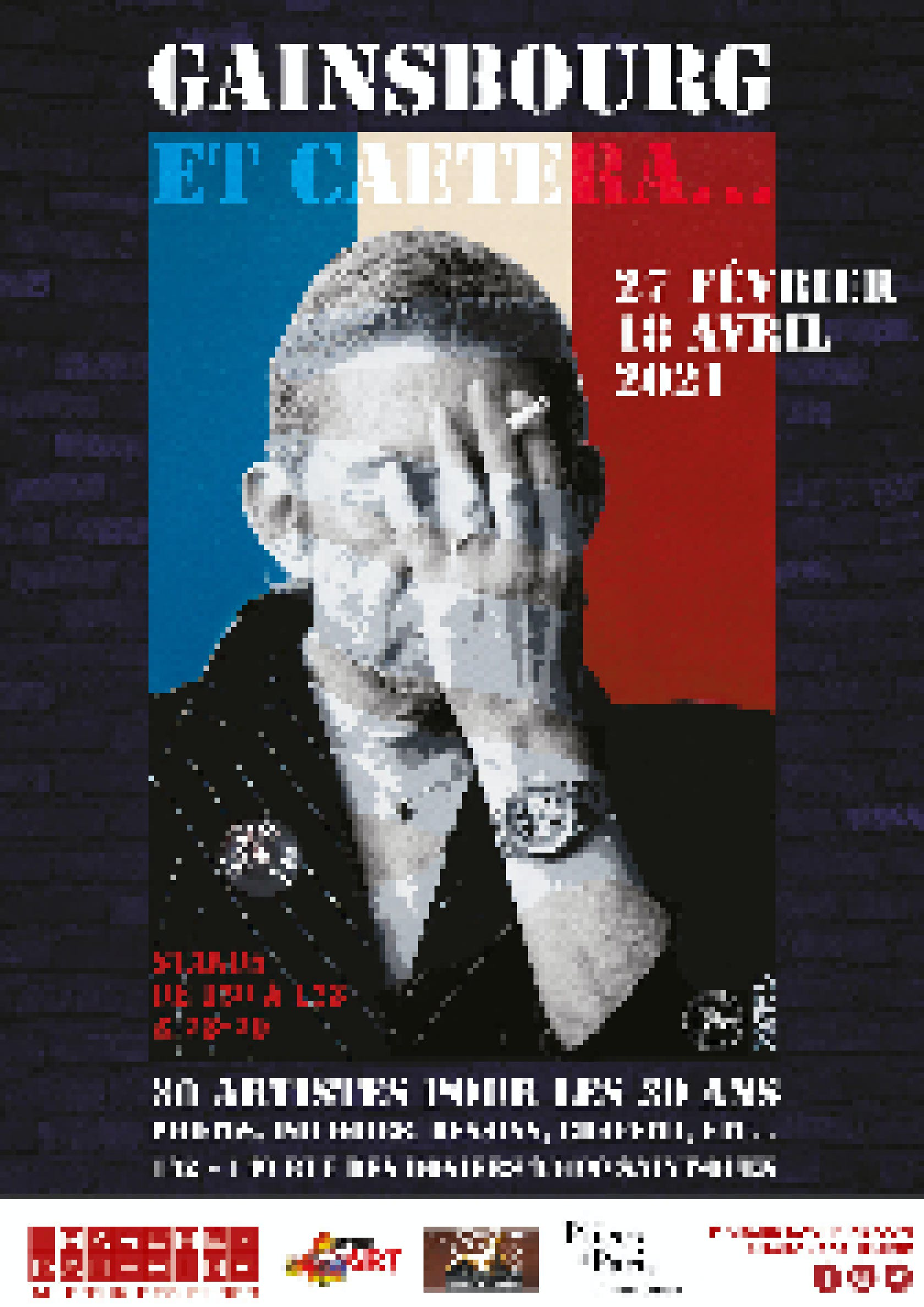 Gainsbourg et caetera - Marché Dauphine