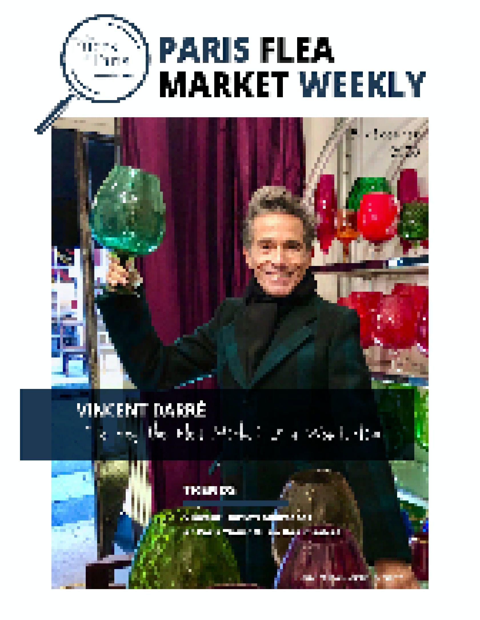 Paris Flea Market Weekly N°14 cover