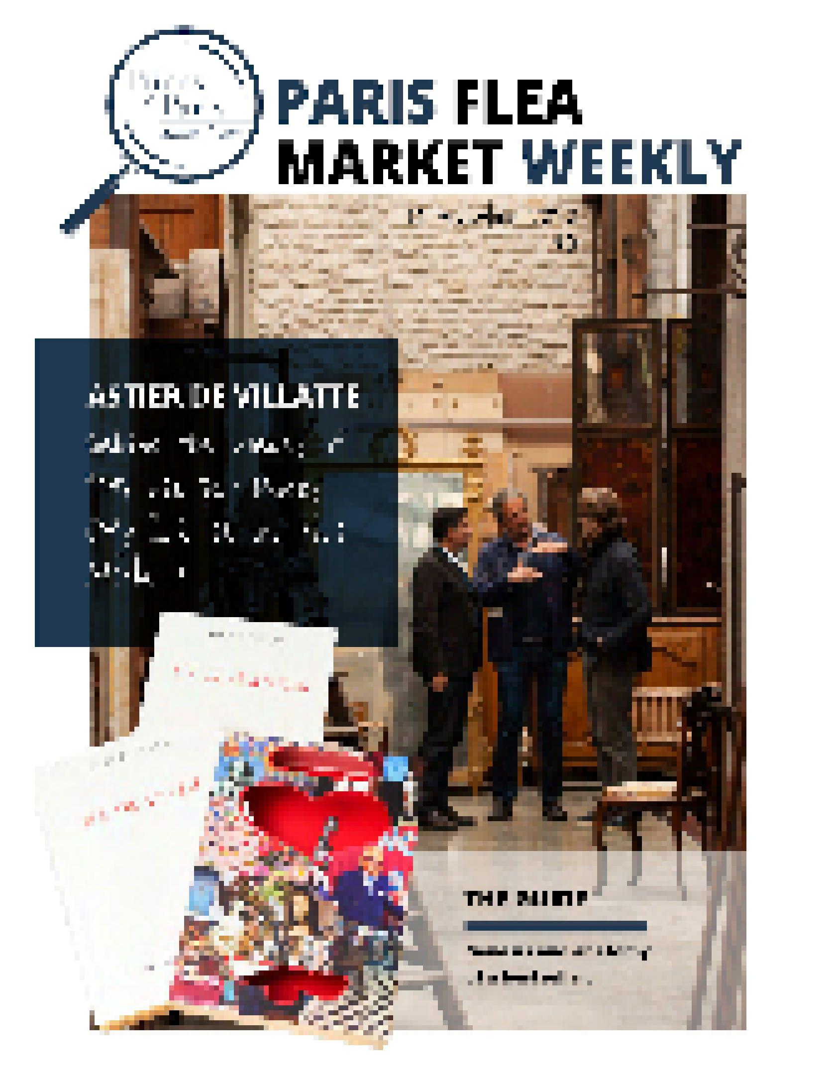 The Paris Flea Market Weekly N° 9 Cover