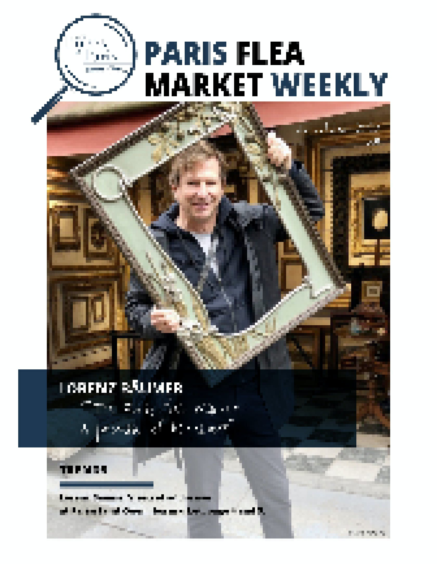 The Paris Flea Market Weekly N° 8 Cover