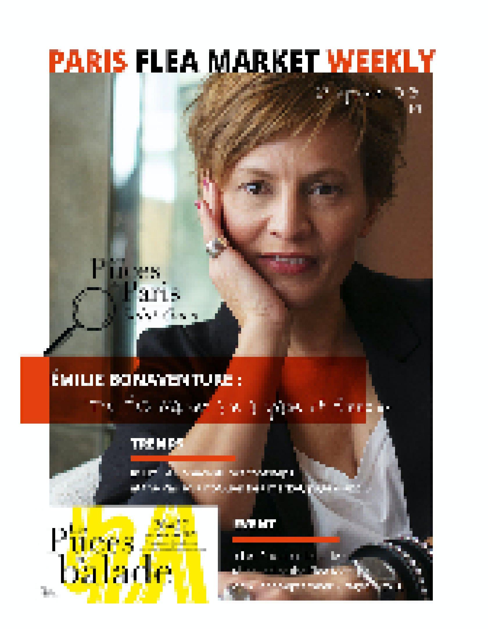 Paris Flea Market Weekly N4 Cover