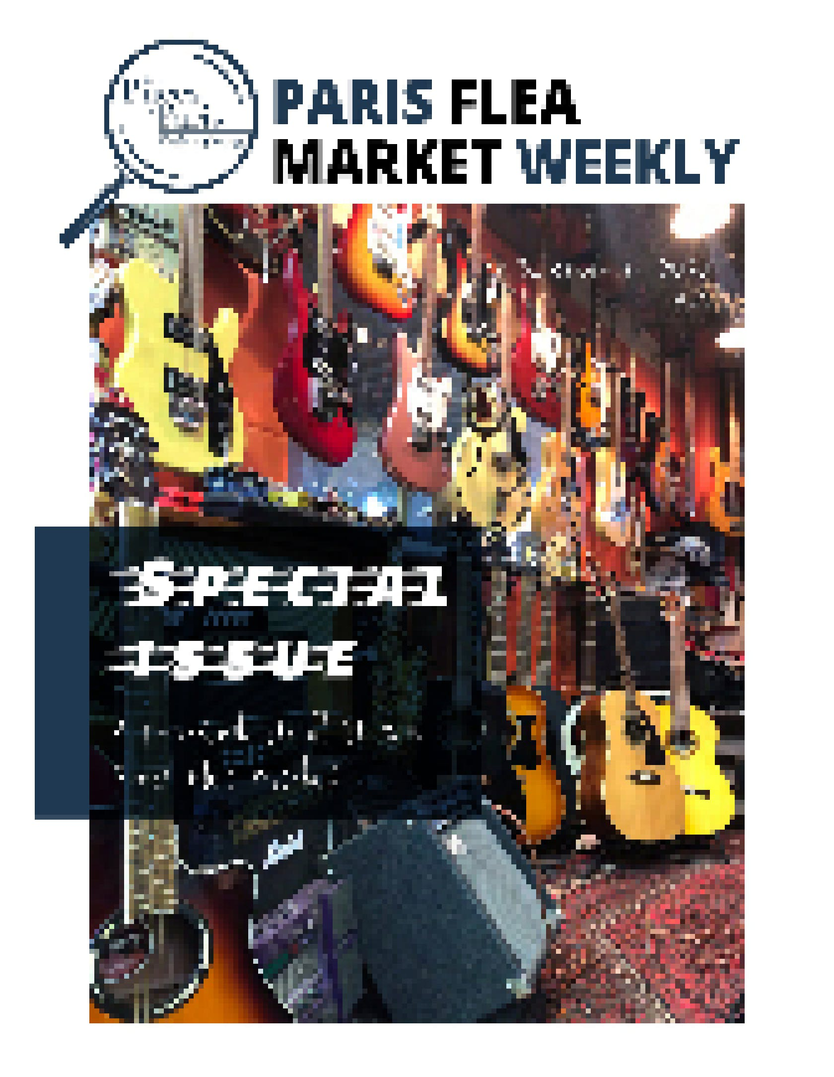 The Paris Flea Market Weekly N°15 cover