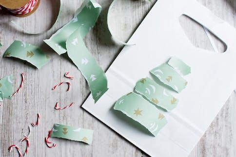 Weihnachts-Saeckchen selber machen