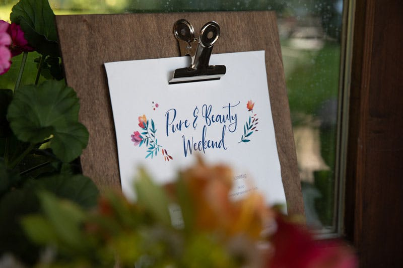 Das Programm des Pure & Beauty Weekend