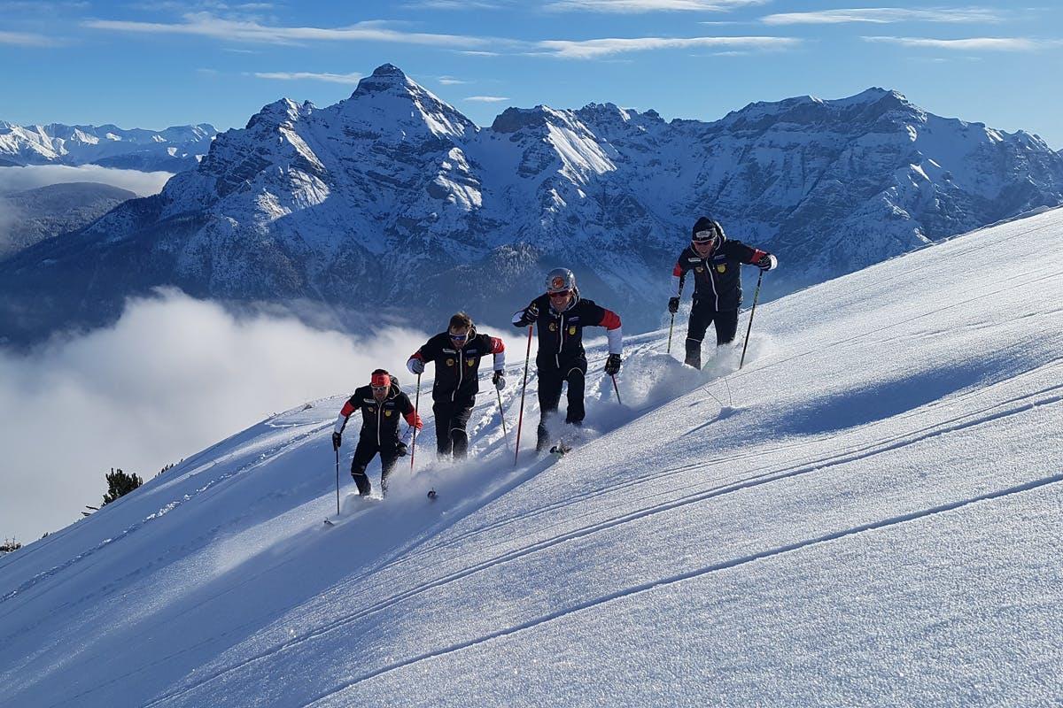 Skibergsteigen macht Spaß und mausert sich vom Freizeit- zum Wettkampfsport