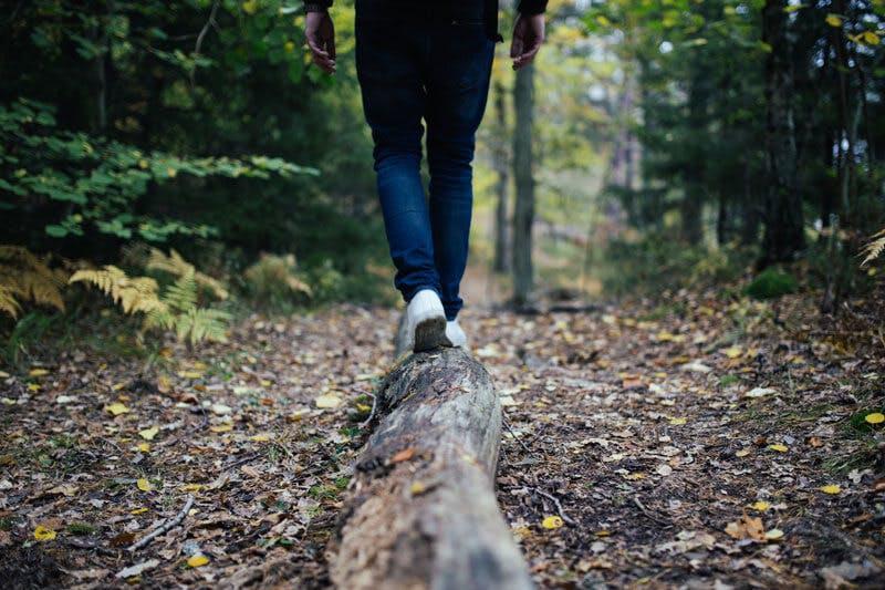 Entspannte Spaziergänge im Wald sind ein gutes Mittel, um Stress vorzubeugen.